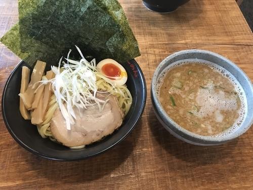 「つけ麺 あつもり ランチサービス中盛り 910円」@壱八家 つきみ野店の写真