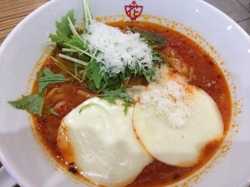 「モッツアレラトマトスープ麺」@トマトの花 イオンモール日の出店の写真