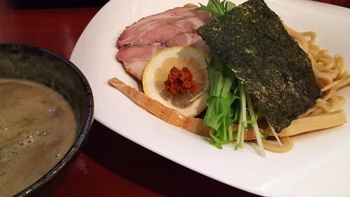 「濃厚豚骨魚介つけ麺大盛」@拉麺 空の写真