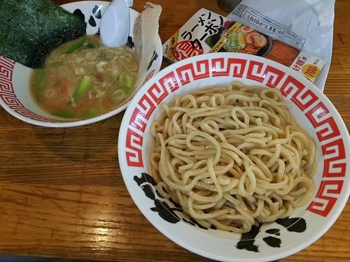 「濃厚豚骨つけ麺 (大盛) ※クーポンで500円」@らーめん じゃげな 南箕輪店の写真