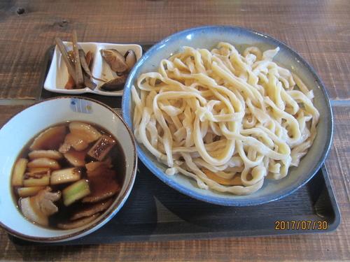 「だんべ肉汁うどん五合もり(大盛り)860円」@だんべうどんの写真