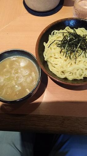 「つけめん(にぼし濃い目、太麺、大盛)」@用賀らーめん たつみの写真
