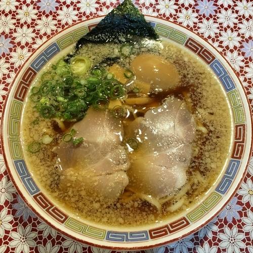 「虎そば (780円) 半熟味付卵 (130円)」@麺 虎右ヱ門の写真