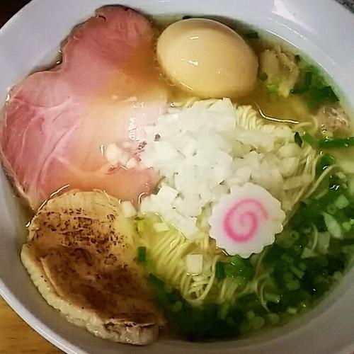 「【限定】鶏そば(塩)800円」@へべれ家の写真