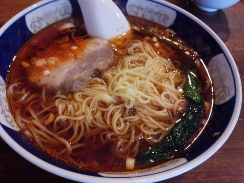 「さんほんめん」@支那麺 はしご 銀座八丁目店の写真