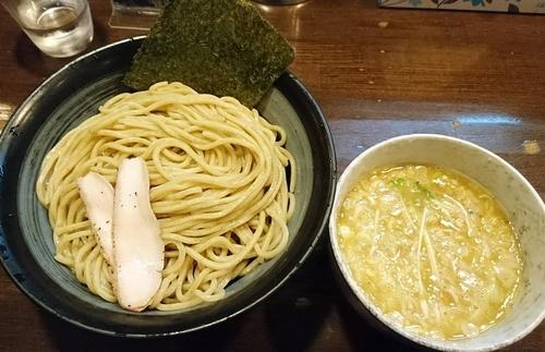 「鶏つけ麺(塩)780 ※大盛無料」@鶏々 TORIDORIの写真