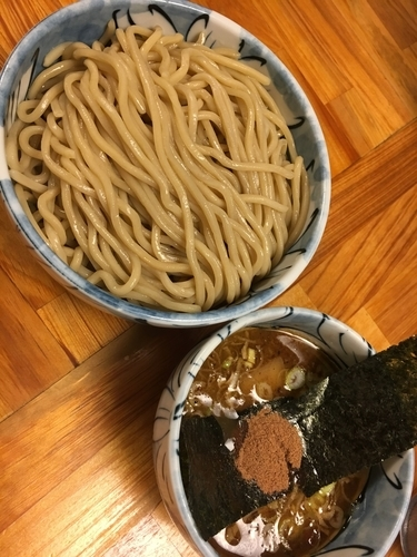 「つけ麺」@自家製麺 然の写真