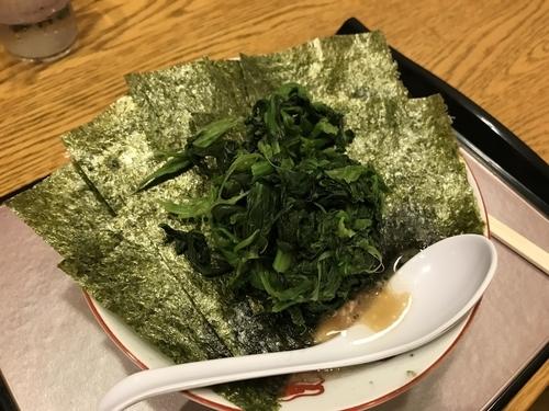 「普通の普通で海苔レンソウ多め」@麺家 いわいの写真