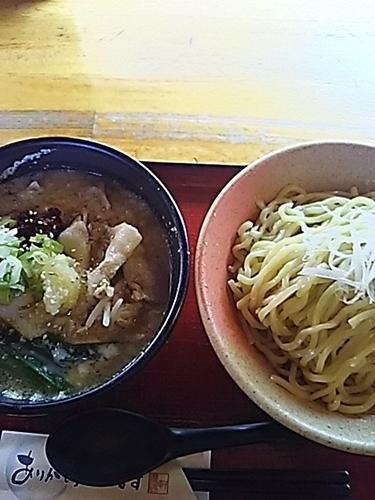 「にんにくスタミナつけ麺 (中) 1080円」@優勝軒 鶴ヶ島店の写真