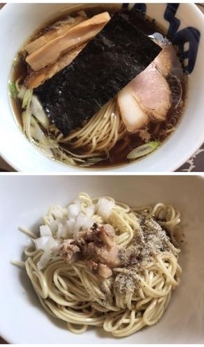 「醤油ラーメン+和え玉」@麺工 小烏丸の写真
