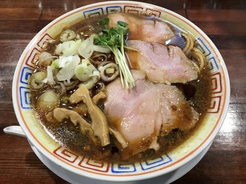 「サバ醤油そば  700円」@サバ6製麺所 京橋店の写真