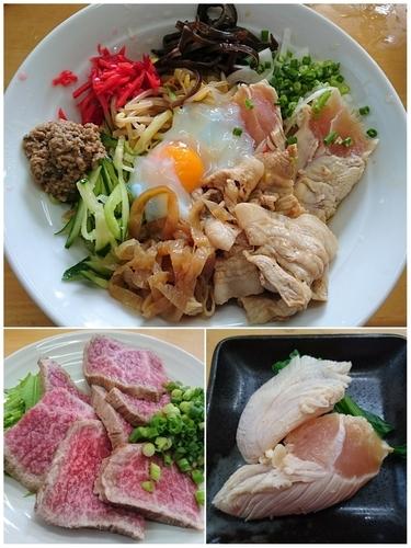 「【真夏の一杯】肉しゃぶ冷中(Ⅽ)」@MENYA 食い味の道有楽の写真