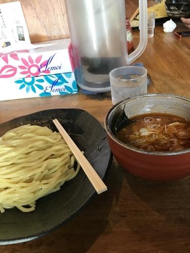 「辛味」@つけ麺屋 ごんろく 両国店の写真
