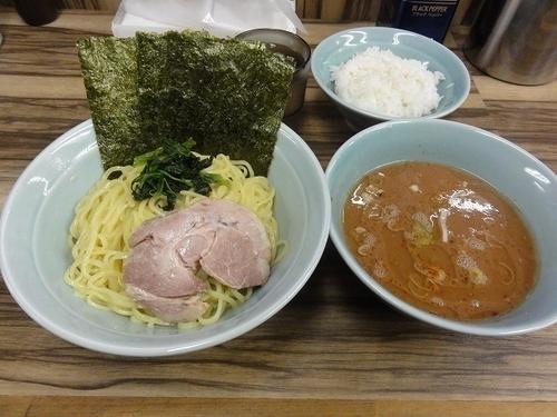 「つけ麺中 800円  無料ライス2杯」@横浜ラーメン 武源家の写真