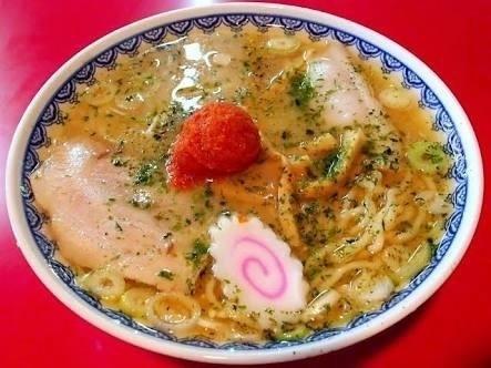 「赤湯辛味噌ラーメン」@龍上海 鶴岡店の写真