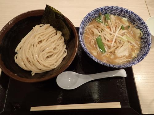 「野菜たっぷりつけめん 730円」@久臨の写真