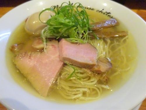 「塩 (細麺)  800円」@麺庵ちとせの写真