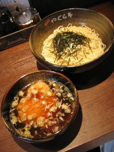 「つけ麺800円」@支那そば やぐら亭の写真
