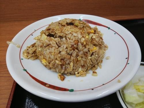 「チャーハン特別定食半らーめん付」@らーめん福よし 新習志野店の写真