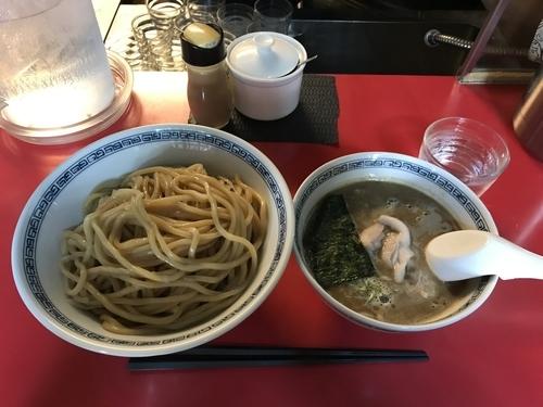 「つけ麺」@中華そば つけそば こばやしの写真