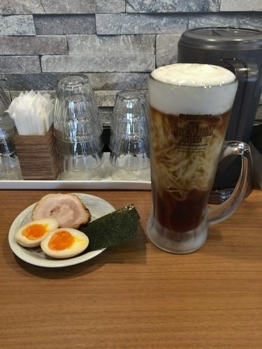 「ぼくのビール麺 800円」@麺屋 はちどりの写真