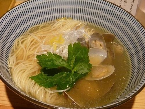 「貝塩らーめん」@鮮魚麺 海里の写真