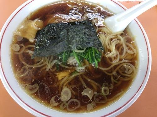 「青島ラーメン750円」@青島食堂 宮内駅前店の写真