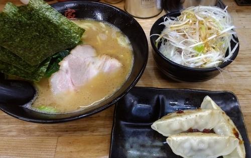 「せい家セット・太麺」@せい家 蒲田店の写真