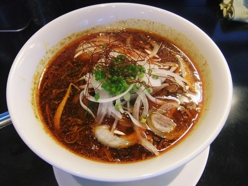 「黒蠍風 勝浦タンタン麺(690円)」@金蠍の写真