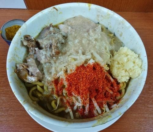 「ラーメン豚+カレー味=950円」@麺や 希 御徒町店の写真