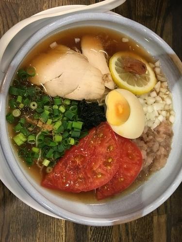 「冷しそば」@あら焼鶏白湯 カシムラの写真