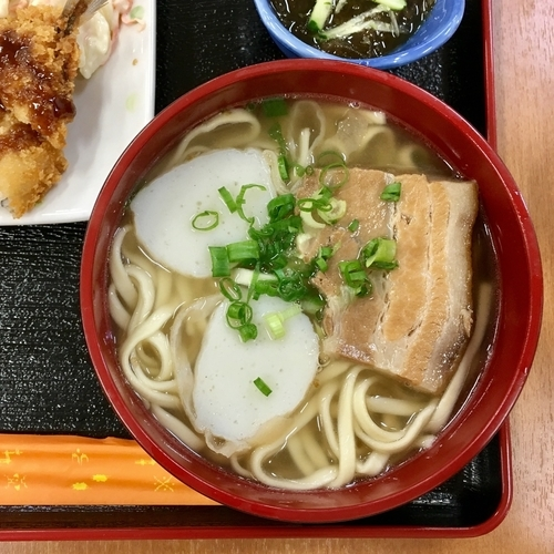 「そばセット 750円」@いちまん御膳 南の駅食道の写真