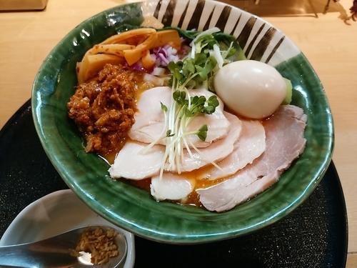 「特製担々麵 大盛」@つけ麺 たけもとの写真