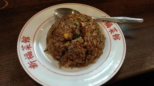 「らーめんとチャーハン」@新福菜館 麻布十番店の写真