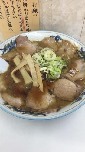 「チャーシュー麺」@元祖北海道旭川ラーメン ぺーぱんの写真