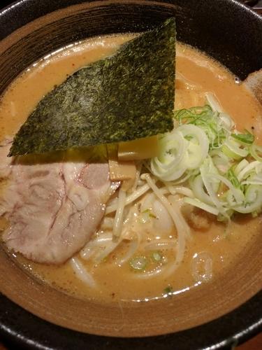 「味噌ラーメン ランチ餃子セット」@北海道らーめん 楓 京急蒲田店の写真