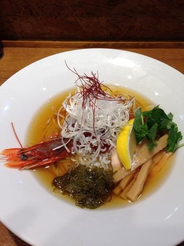 「【限定】天使のえびといくらの冷やしそば」@寿製麺よしかわ 川越店の写真