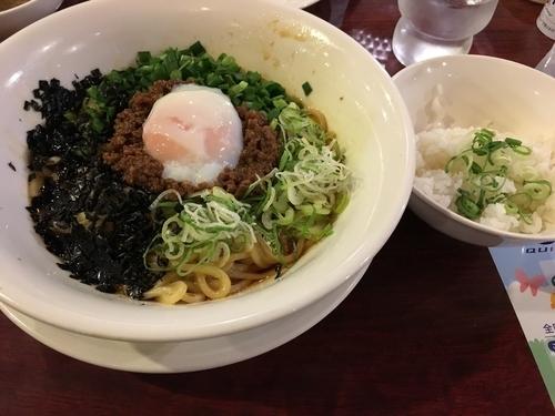 「ピリ辛台湾まぜそば(追い飯つき)」@バーミヤン 須玉インター店の写真