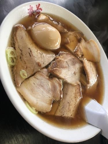 「チャーシュー麺」@喜多方ラーメン 来夢 会津若松駅前店の写真
