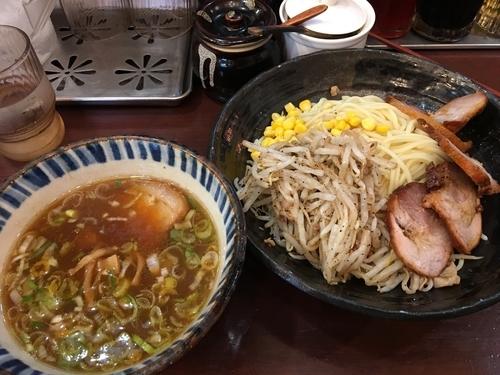 「つけ麺チャーシュー 元味 1230円」@らいおん 府中本店の写真