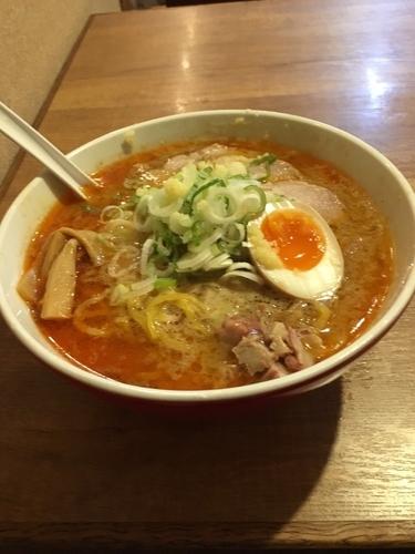 「コク辛味噌ラーメン」@大島の写真