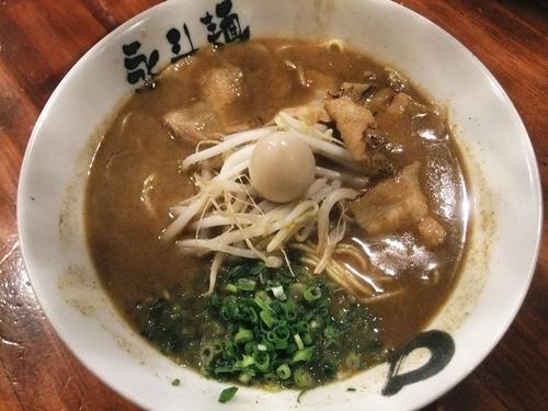 「サンマらーめん(780円)」@永斗麺の写真