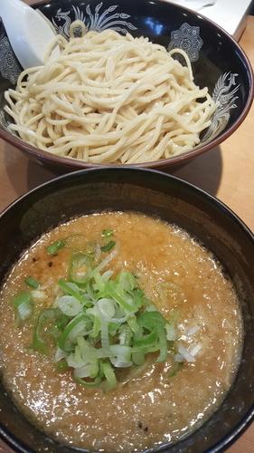 「味噌つけ麺中盛」@旨みこってりらーめん 鐵 TETSU 千葉分店の写真