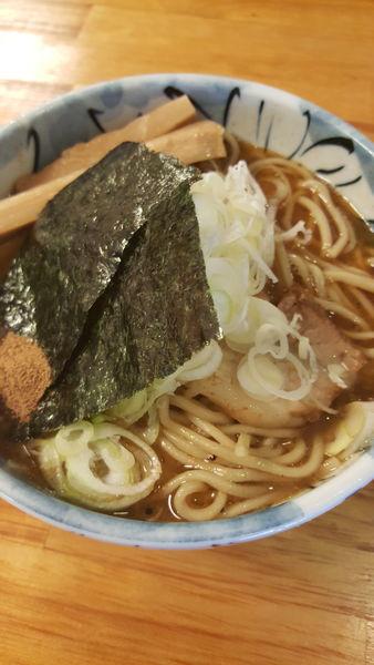 「ラーメン中盛」@自家製麺 然の写真