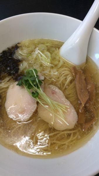 「煮干しラーメン 塩」@ラーメン香華の写真