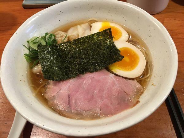 「雲呑麺」@中華そば 榮じの写真