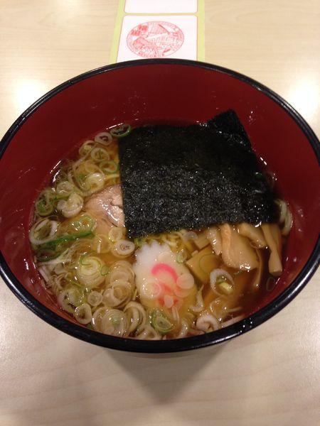 「横川醤油ラーメン」@横川SAスナックコーナーの写真