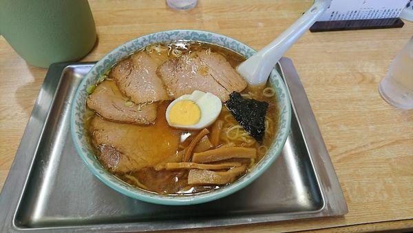 「チャーシューワンタン麺」@大勝軒 北習志野店の写真