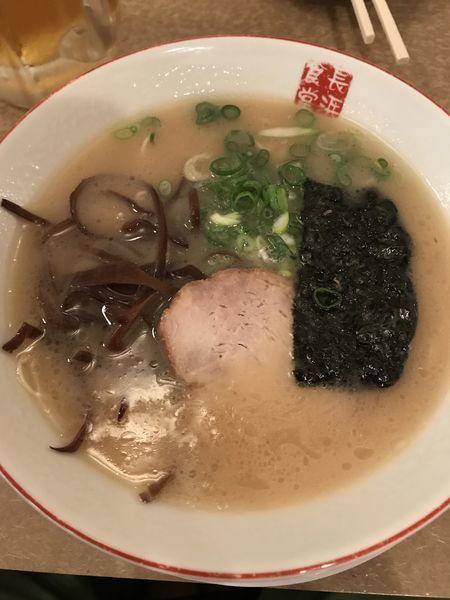「こってり長浜とんこつラーメン」@博多餃子房 長浜食堂の写真
