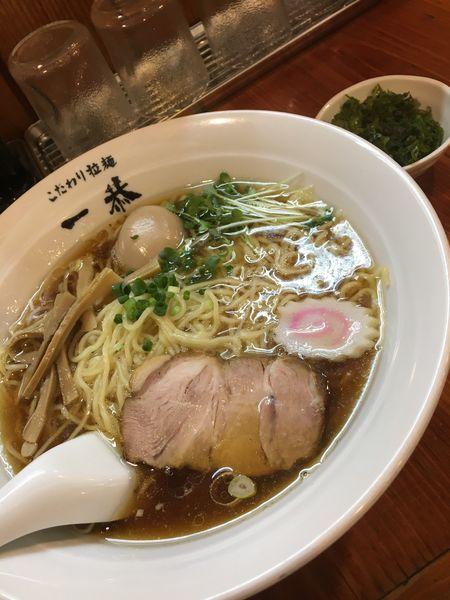 「ラーメン」@こだわり拉麺 一恭の写真